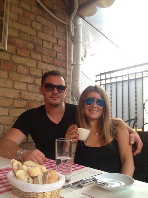 Экс-супруга Алана БАДОЕВА Жанна с новым бойфрендом - бизнесменом Сергеем БАБЕНКО