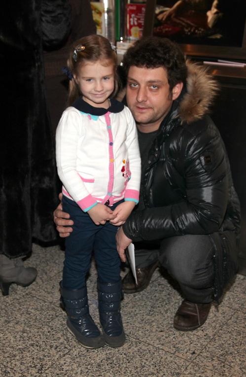 Михаил ПОЛИЦЕЙМАКО с дочкой