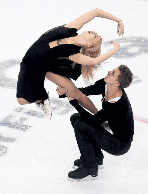 Екатерина БОБРОВА и Дмитрий СОЛОВЬЁВ не боятся жёсткой конкуренции. Фото: © Reuters