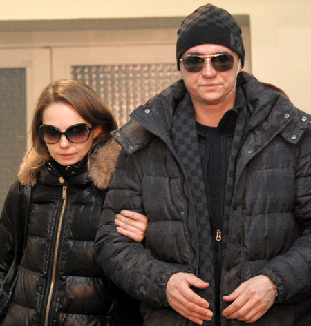 Сергей ФИЛИН с женой Марией