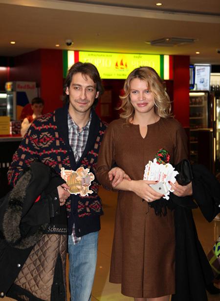 Артём ТКАЧЕНКО с женой Евгенией (фото Ларисы КУДРЯВЦЕВОЙ)