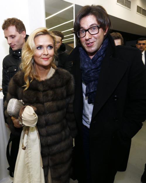 Андрей МАЛАХОВ с женой Натальей