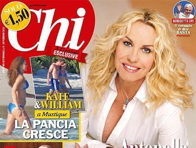 Беременная Кейт МИДДЛТОН на обложке журнала