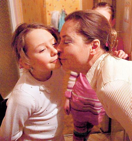 Екатерина ЛИВАНОВА с дочкой Евой