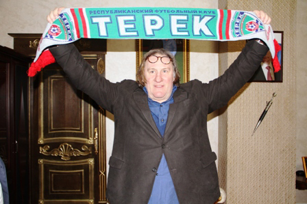 Жерар Депардье стал почетным гражданином Чечни. Фото: «РИА Новости»