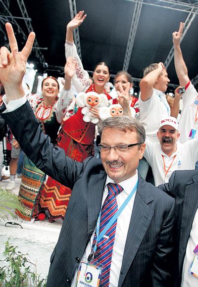 Глава «дорогого» Сбербанка Герман ГРЕФ доволен как никогда