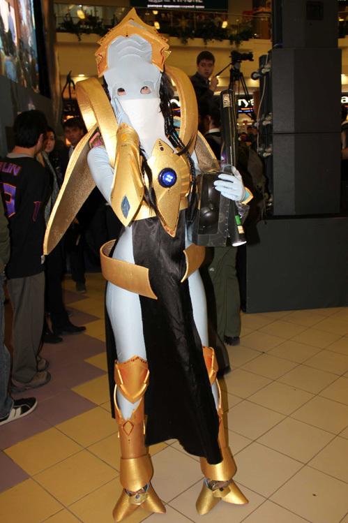 Победительница конкурса костюмов