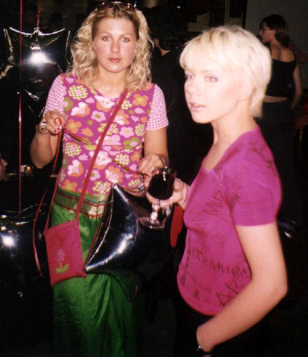 С Евой ПОЛЬНОЙ Лену в своё время связывали довольно близкие отношения. Фото Александра БОЙКОВА