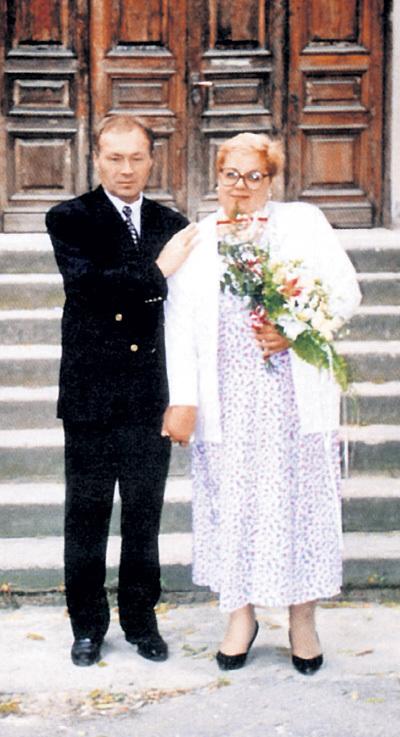 КУЗНЕЦОВ переживает смерть любимой супруги Ирины. Фото из личного архива Юрия КУЗНЕЦОВА