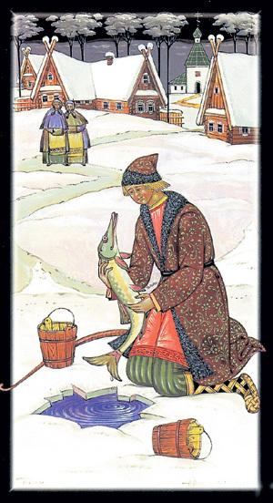 В русских сказках щука обладает волшебными свойствами