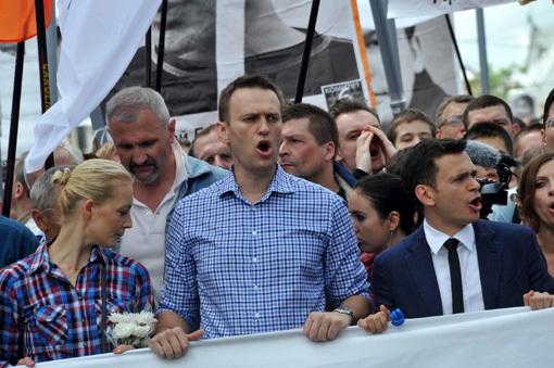 Алексей НАВАЛЬНЫЙ (фото Владимира ВЕЛЕНГУРИНА)