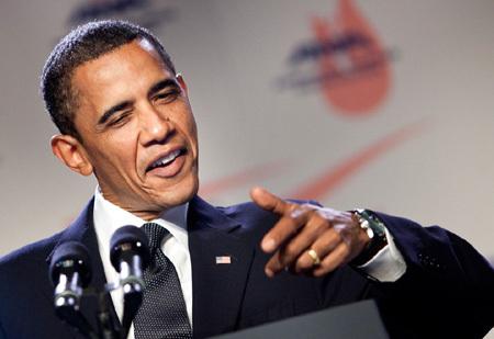 Барак Обама призвал спортсмено-геев улучшить результаты  Фото:
