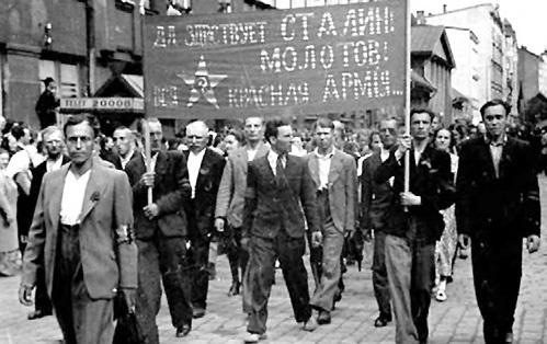 В 1939 году жители Литвы были счастливы избавиться от «независимости» и с радостью вступили в СССР