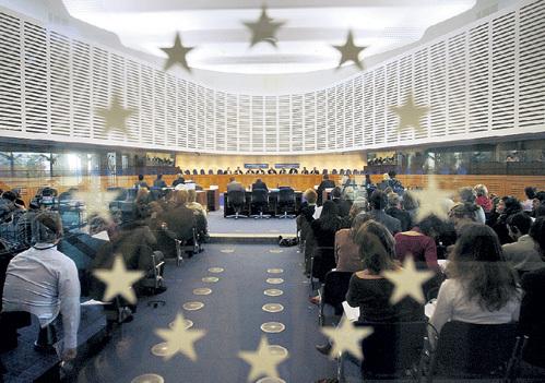Слушания Страсбургского суда являются публичными. Чтобы присутствовать на заседаниях, нужно заранее направить заявку на участие