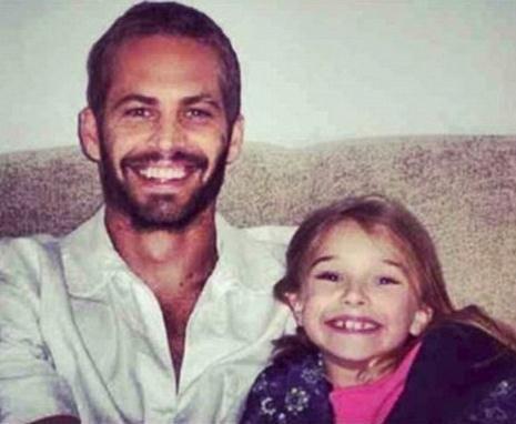 Пол с дочкой