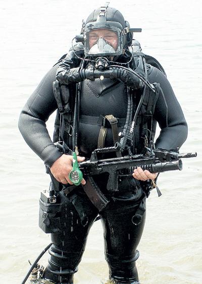 Прицельная дальность стрельбы из АДС на глубине - 25 м