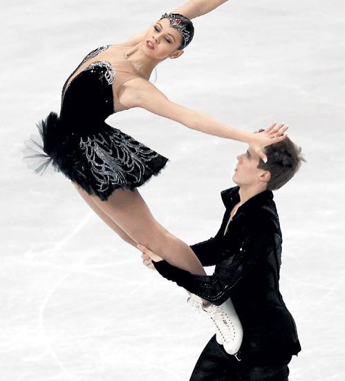 Прекрасную пару Елена ИЛЬИНЫХ - Никита КАЦАЛАПОВ наша федерация терять не хочет. Фото: © Reuters