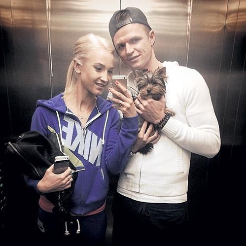 Ольга БУЗОВА и Дмитрий ТАРАСОВ. Фото: Instagram.com