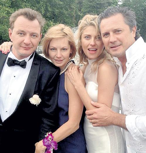 С Алёной БАБЕНКО и её мужем Эдуардом