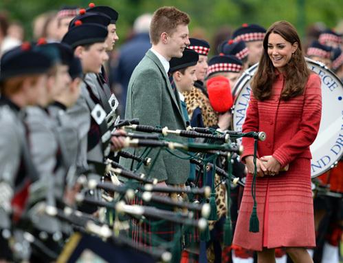 Кейт МИДДЛТОН в Шотландии. Фото: Splash/All Over Press