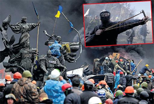 Рядовая массовка майдана получала по $15 в день, а участники столкновений с милицией - по $120. Фото: Фото: © Reuters