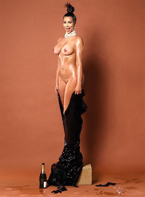 Ким кардашьян ее голая попа