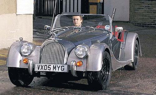 «Морган» - одна из любимых машин Ричарда