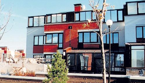 В этом доме продюсера в Барвихе случился пожар. Фото Александра БОЙКОВА