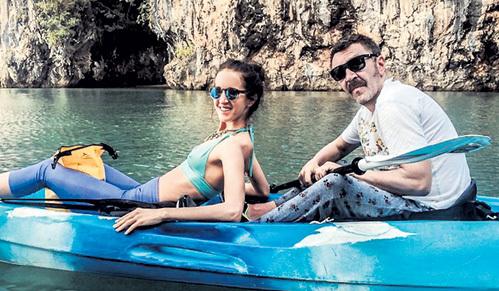 Лена и Серёжа покатались по заливу Паг Нга