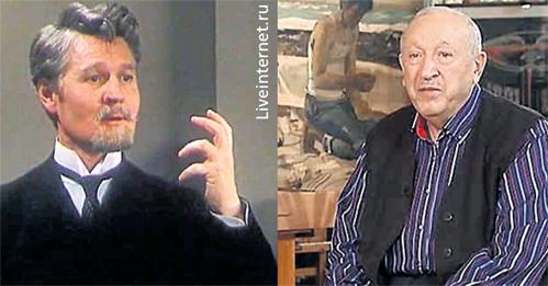 Режиссёр МОНАСТЫРСКИЙ и художник САЛАХОВ: кто же из них всё-таки настоящий тесть ТАЛЫШИНСКОЙ?