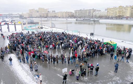 Московский Гайд-парк расположен настолько удачно, что, если там даже убивать будут, никто не услышит