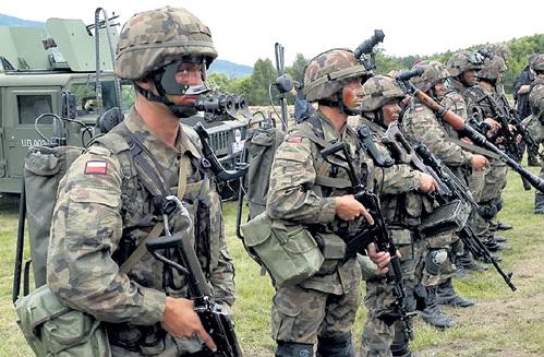 Польских солдат сегодня готовят по стандартам НАТО. Многие из них сейчас воюют на Донбассе в составе укровермахта. Большинство возвращается домой в цинковых гробах. Фото: yaplakal.com