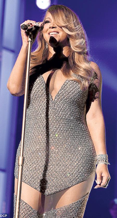 На шоу BMA Мэрайя КЭРИ показала, что остаётся самой внушительной фигурой в поп-музыке
