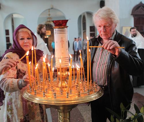 Юрий НАЗАРОВ с женой