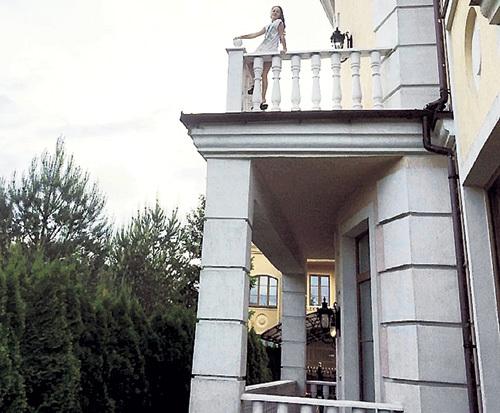 С балкона видно Москву