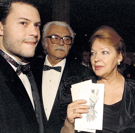 Федя с папой Сергеем и мамой Ириной. Фото: РИА «Новости»