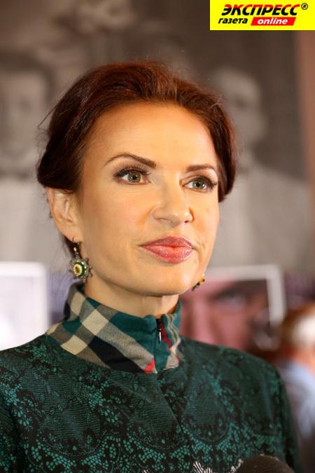 Эвелина БЛЕДАНС. Фото Бориса КУДРЯВОВА