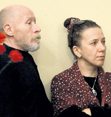 Виктор ПРОСКУРИН с супругой