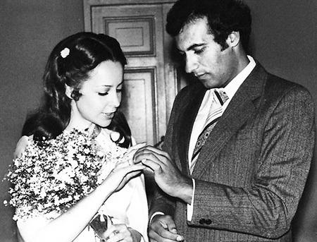 С первой женой Леной