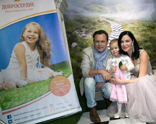 Владимир ЛЁВКИН с дочкой, Ирина ДМИТРАКОВА