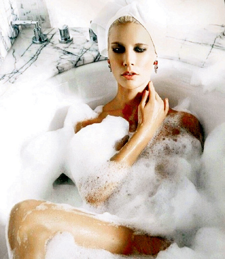 ...просторная ванная... Фото: Instagram.com