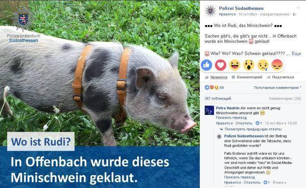 Фото: facebook.com/polizei.soh