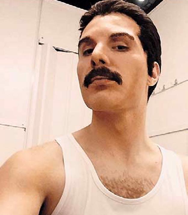 В шоу перевоплощений Никита примерил на себя разные образы - от Фредди МЕРКЬЮРИ...