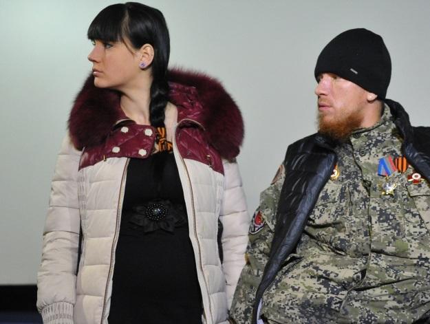 Моторола с супругой (Фото: Виктор Гусейнов/