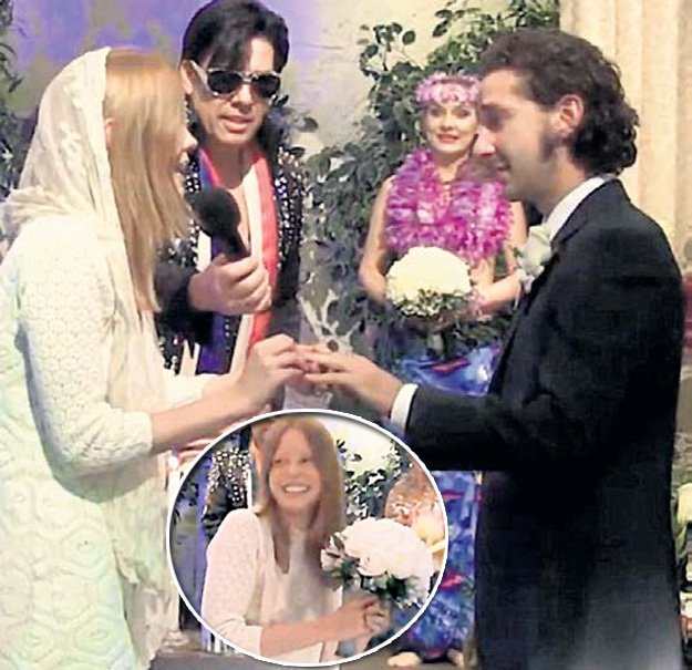 Шайя и Миа устроили свадьбу в духе Элвиса ПРЕСЛИ