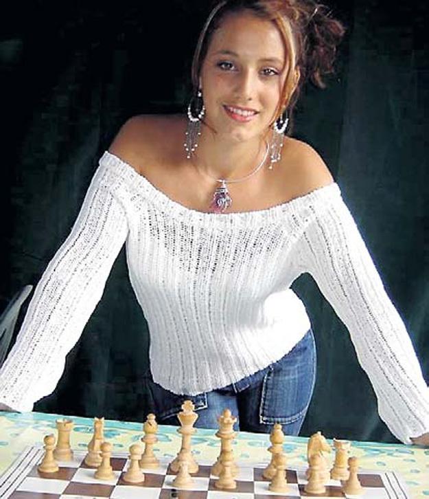 Джессика БАСЛАНД из Франции. Фото с сайта chess.com