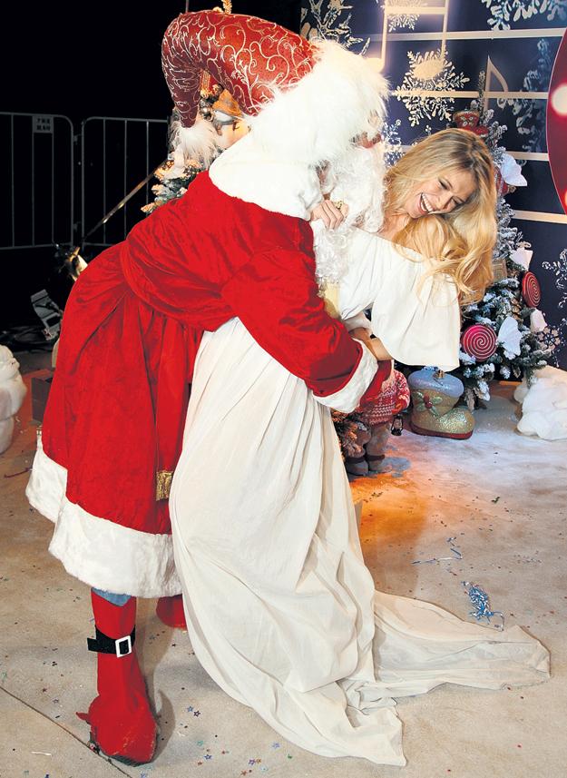 Верочку и Дед Мороз пощупать не дурак