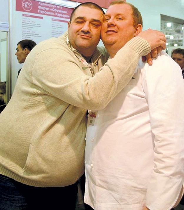 Скончавшийся полгода назад Юрий РОЖКОВ (слева) был другом и партнером ИВЛЕВА по бизнесу. Фото: Facebook.com