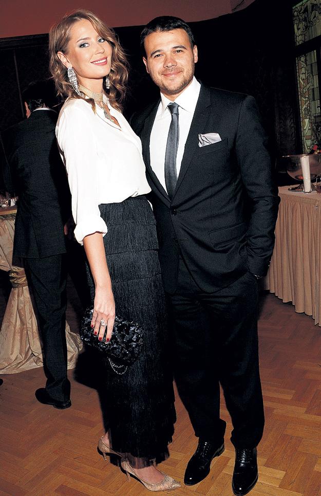 ЭМИН пришёл на праздник с «Мисс Мордовия-2004» Алёной ГАВРИЛОВОЙ, которая раньше жила с миллиардером Рустамом ТАРИКО