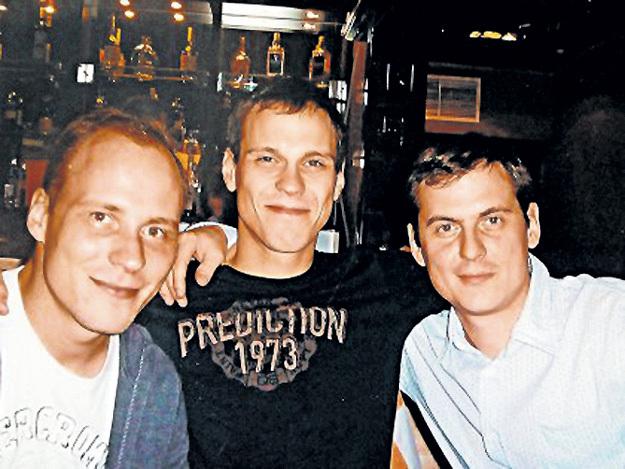 Сыновья актёра - Владимир, Константин и Егор. Фото из личного архива